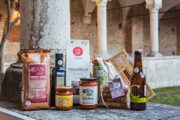 Fotografia di prodotti venduti a Mirasole